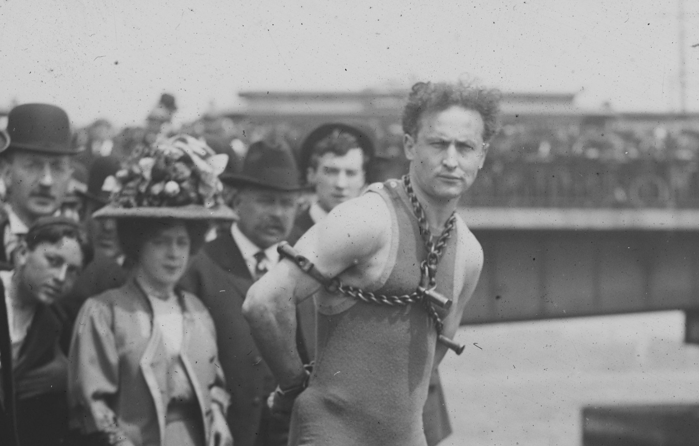 Harry Houdini Stunts