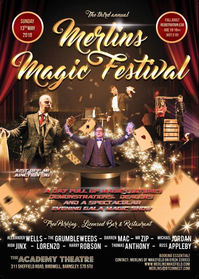Merlins Festival Of Magic, A Magic Geek's Haven Matthew J Magic